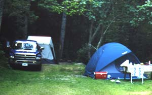 Tent C&ing Rates & Creekside Mountain Camping - Tenting